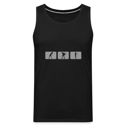 DJ#2 shirt#1 - Mannen Premium tank top