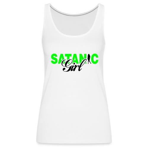Satanic_girl - Camiseta de tirantes premium mujer