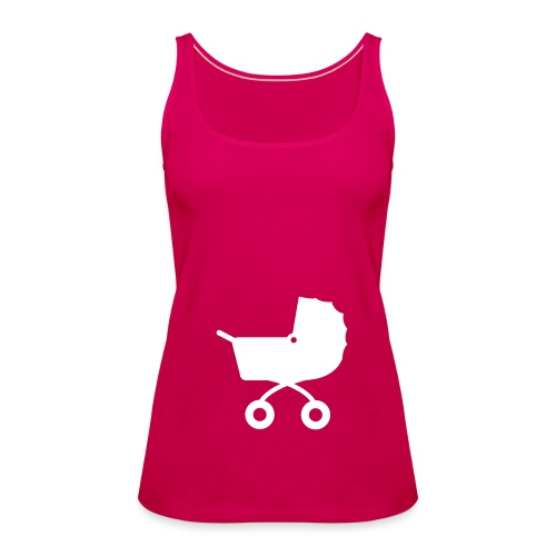 Racerback Vest babybuggy - Camiseta de tirantes premium mujer