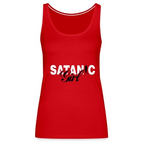 Satanic Girl - Frauen Premium Tank Top
