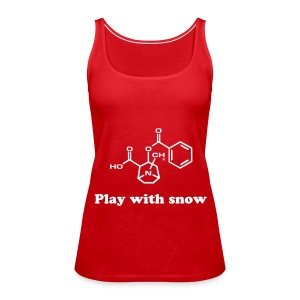 Cocaine - Women's Premium Tank Top