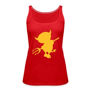 Roter Devil - Frauen Premium Tank Top