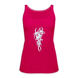 Rosa Tribal3 - Frauen Premium Tank Top