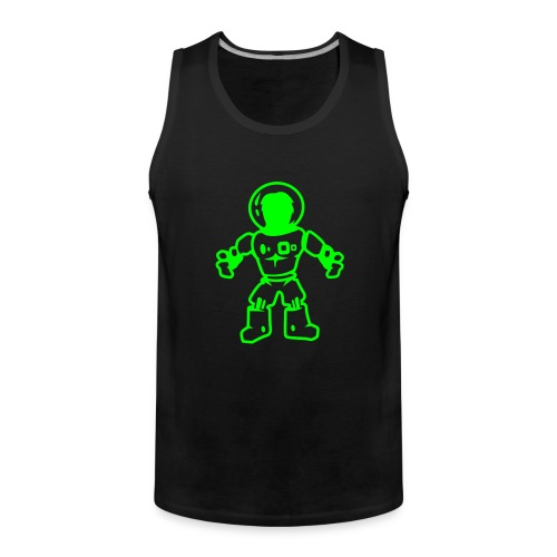 spaceman - Mannen Premium tank top