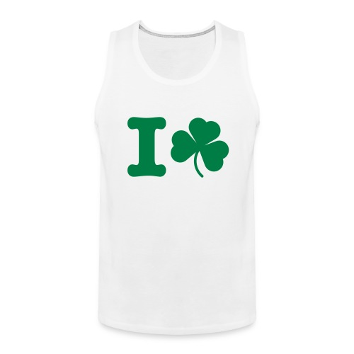 Fudge - I Love Shamrock - Men's Premium Tank Top