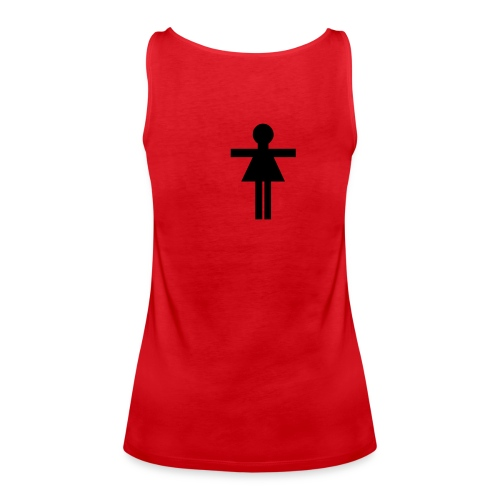DEBARDEUR GIRL POWER... - Débardeur Premium Femme
