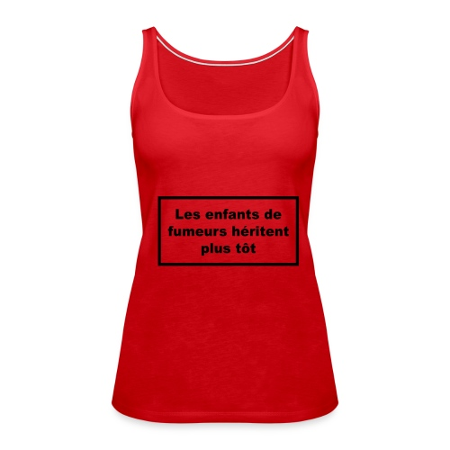 Débardeur fines bretelles - Débardeur Premium Femme