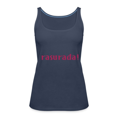 Rasurada Mujer - Camiseta de tirantes premium mujer