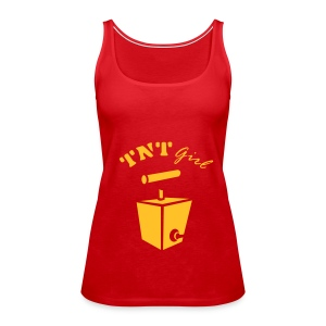 TNT Girl Spagetti Top - Women's Premium Tank Top