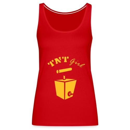 TNT Girl Spagetti Top - Women's Premium Tank Top