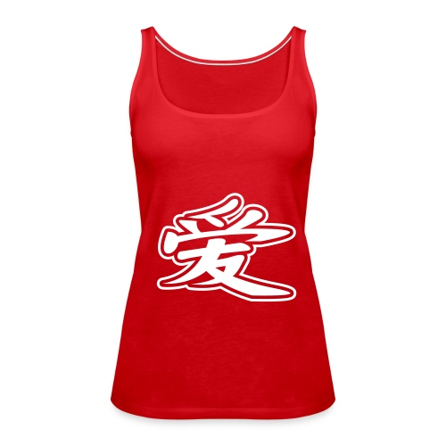 Girl Tee 2 China Coll. - Premium singlet for kvinner