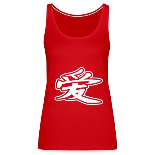 Girl Tee 2 China Coll. - Premium singlet for kvinner