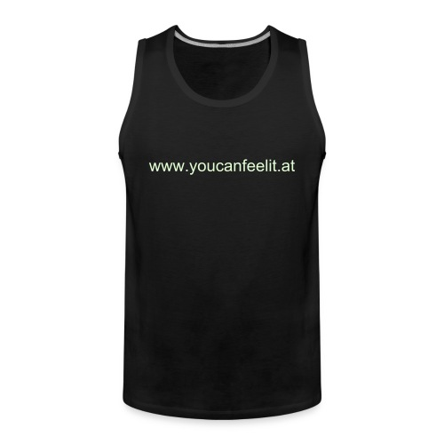 Glow in the Dark (tank top) - Männer Premium Tank Top