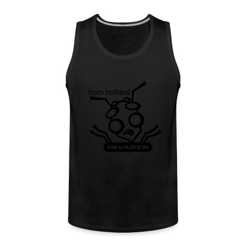 Invader from Holland - Mannen Premium tank top