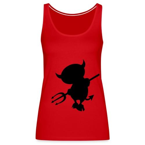 débardeur devil rouge - Débardeur Premium Femme