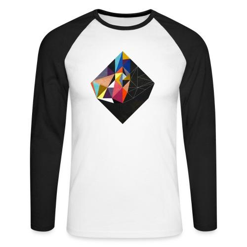 Germany 39 Black/White Baseball T-Shirt Homme - T-shirt baseball manches longues Homme