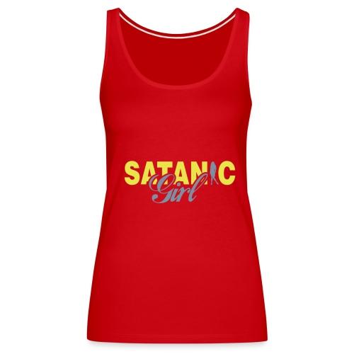 Satanic - Frauen Premium Tank Top