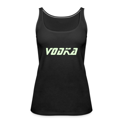 Glow Vodka vest - Women's Premium Tank Top