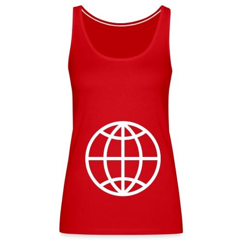 World - Frauen Premium Tank Top