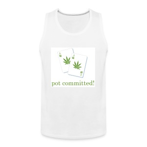 Pot Committed - Men's Premium Tank Top