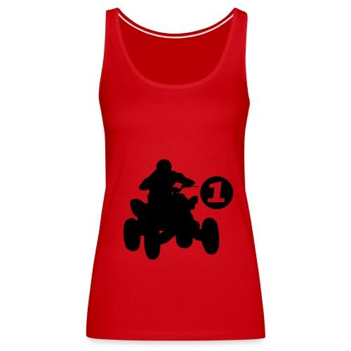 Continental Spaghetti top de tiras - Camiseta de tirantes premium mujer