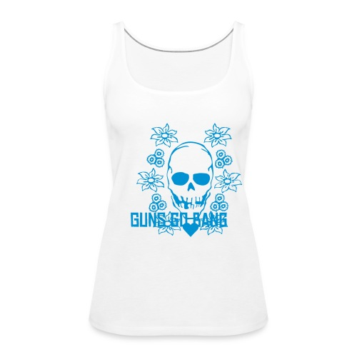 'Skull' Guns go bang Collection - Débardeur Premium Femme