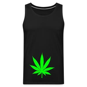 Weed - Mannen Premium tank top