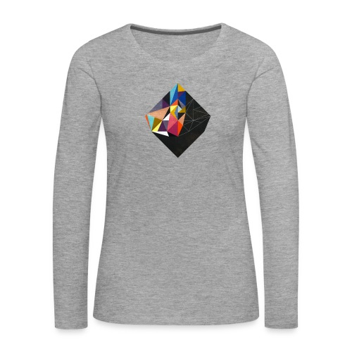 Germany 39 Grey Sweat - Shirt Manches Longues Femme - T-shirt manches longues Premium Femme
