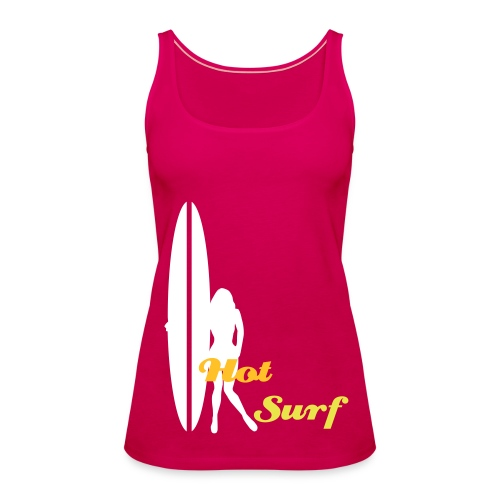 Hot Surf Girl - Women's Premium Tank Top
