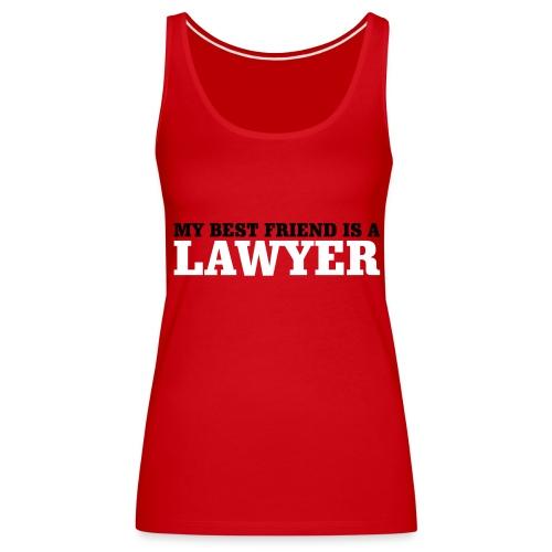 Lawyer - Women's Premium Tank Top