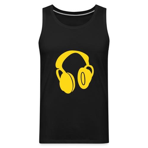 Headphones - Men's Premium Tank Top