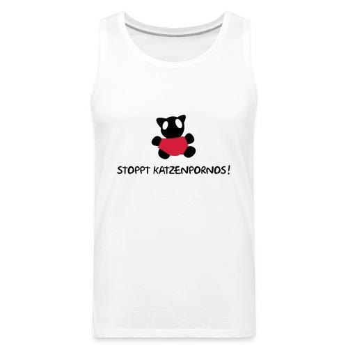 Stoppt Katzenpornos! - Männer Premium Tank Top