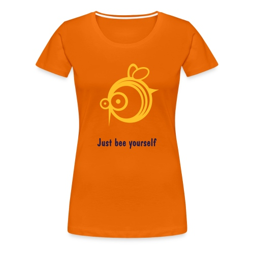 girlie_bee__orange - Frauen Premium T-Shirt
