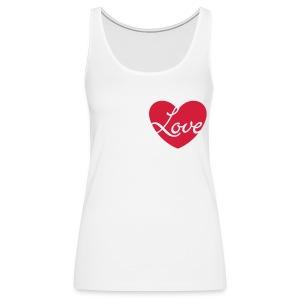Loveheart. - Premium singlet for kvinner