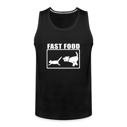 Fast Food - Männer Premium Tank Top