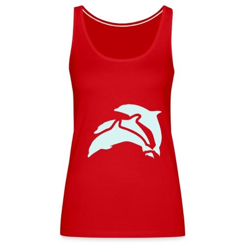 Delphin Shirt - Frauen Premium Tank Top