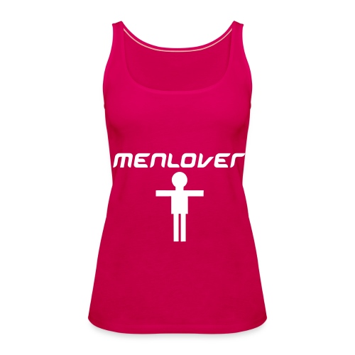 Men Lover Pink Girls - Women's Premium Tank Top