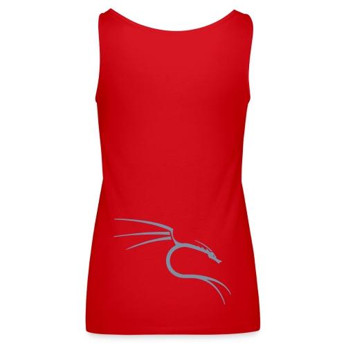 red women blouse - Women's Premium Tank Top