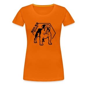 Bulldog Not so Bad - T-shirt Premium Femme