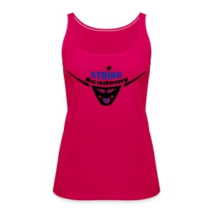 String Academy - Camiseta de tirantes premium mujer