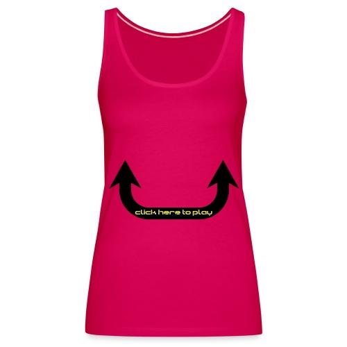 devil in training dames shirtje - Vrouwen Premium tank top