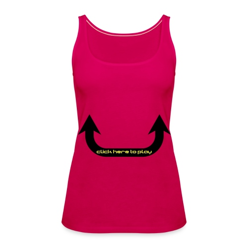 devil in training dames shirtje - Vrouwen Premium tank top