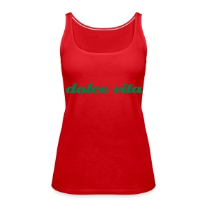 Women's Premium Tank Top - Spaghetti top