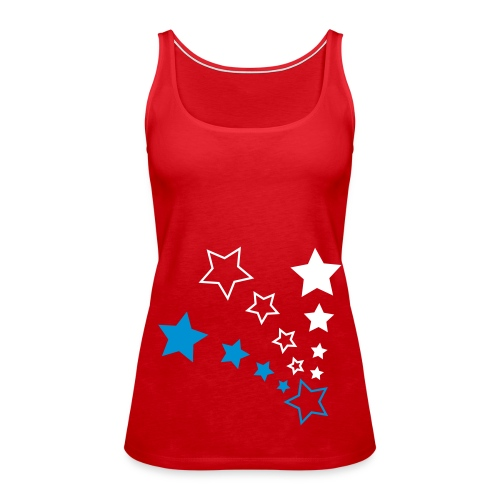 happy red stars - Débardeur Premium Femme