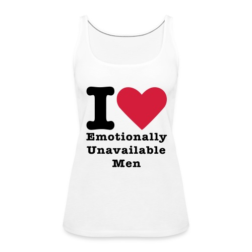 I LOVE.... - Women's Premium Tank Top
