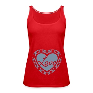 Love Spaghetti top - Women's Premium Tank Top