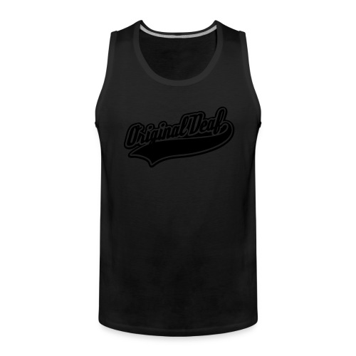 Original Deaf - Männer Premium Tank Top