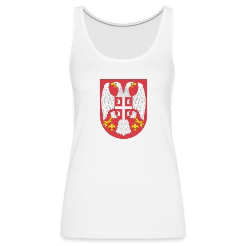 Majica Srbija - Frauen Premium Tank Top