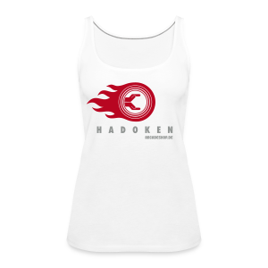 Hadoken (special offer, supported by arcadeshop.de) - Women's Premium Tank Top