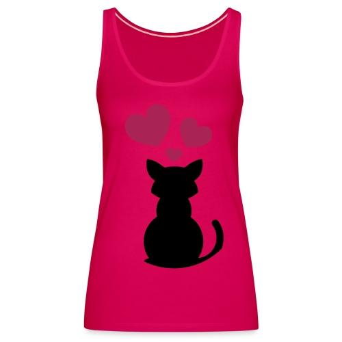 chica tirantes - Camiseta de tirantes premium mujer